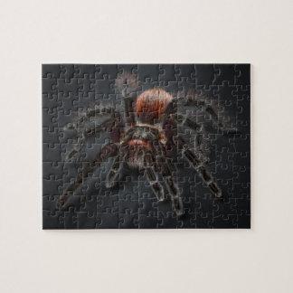 Scary Tarantula Spider Arachnophobia Puzzles