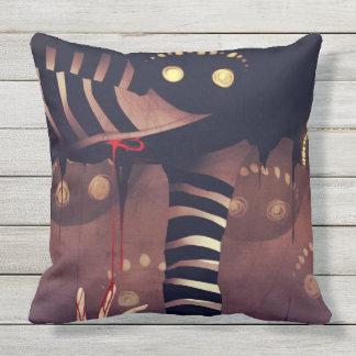 Scary Throw Pillow