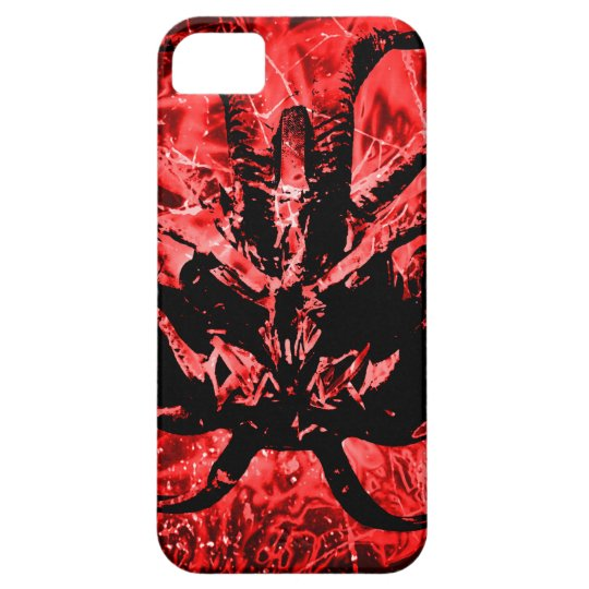 Scary Tribal Mask Case For The iPhone 5