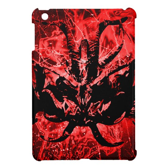 Scary Tribal Mask Cover For The iPad Mini