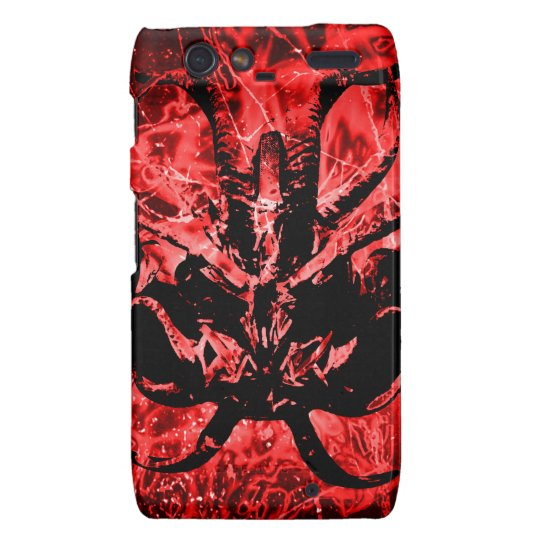 Scary Tribal Mask Droid RAZR Covers