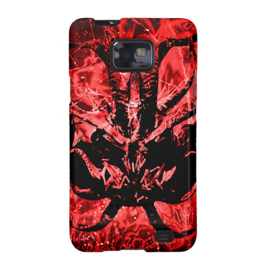 Scary Tribal Mask Galaxy SII Covers