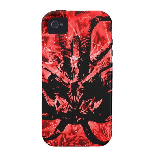 Scary Tribal Mask iPhone 4 Case