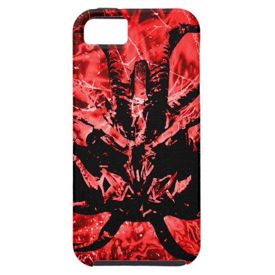 Scary Tribal Mask iPhone 5 Covers
