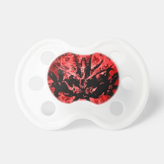 Scary Tribal Mask Pacifier