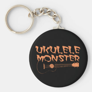 scary ukulele keychain