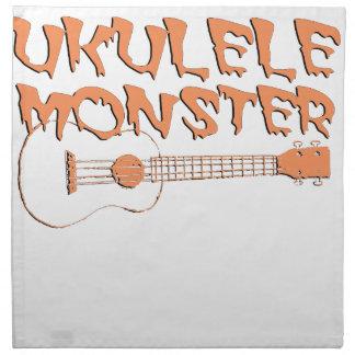 scary ukulele napkin
