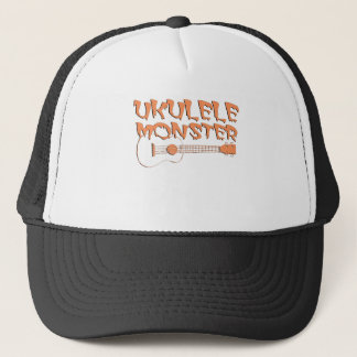 scary ukulele trucker hat