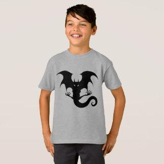 Scary Vampire Dragon Creature Halloween T-Shirt