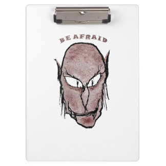 Scary Vampire Drawing Clipboard