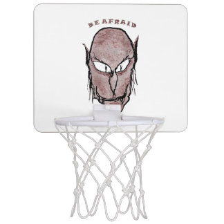Scary Vampire Drawing Mini Basketball Hoop