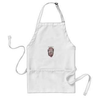 Scary Vampire Drawing Standard Apron