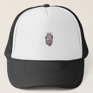 Scary Vampire Drawing Trucker Hat