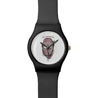 Scary Vampire Drawing Wrist Watch