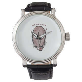 Scary Vampire Drawing Wristwatches