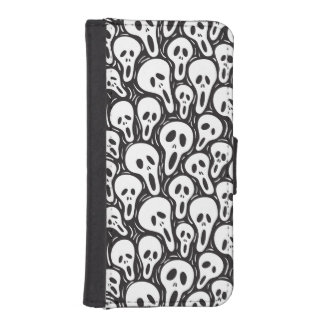 Scary wallpaper phone wallet
