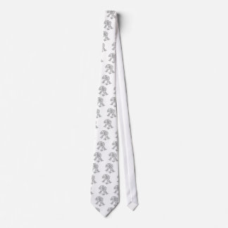 Scary Werewolf  Monster Character Tie