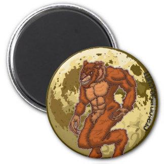 Scary Werewolf Moon magnet