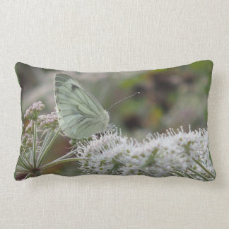 Scatter cushion with white Butterfly