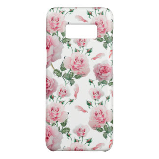 Scatter Pink Roses Pattern Case-Mate Samsung Galaxy S8 Case