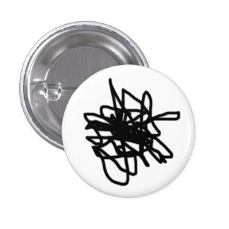 Scattered 1 Inch Round Button