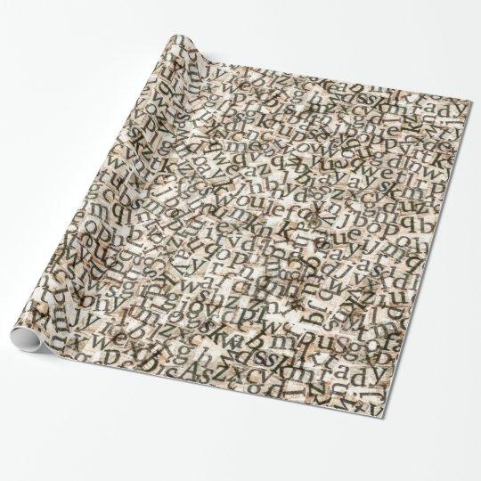 Scattered Alphabet Letters