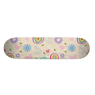Scattered Blooms Skate Decks