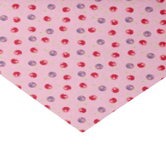 Scattered Cherries Watercolor Tissue Paper