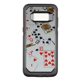 Scattered Deck Of Cards, OtterBox Commuter Samsung Galaxy S8 Case