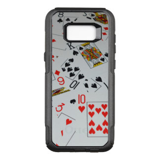 Scattered Deck Of Playing Cards, OtterBox Commuter Samsung Galaxy S8+ Case