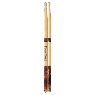 Scattered Design w/customizable monogram Drumsticks