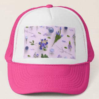 Scattered Flowers Purple Trucker Hat