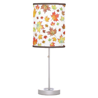 Scattered Maple Leaves Lamp