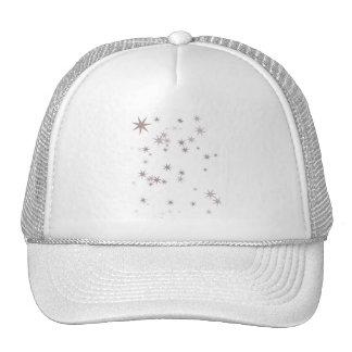 Scattered Silver Faerie Stars Trucker Hat
