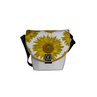 Scattered Sunflowers Rickshaw Mini Messenger Bag