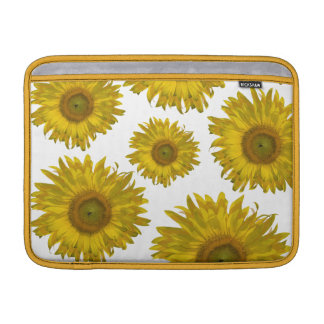 Scattered Yellow Sunflowers MacBook Air Sleeve