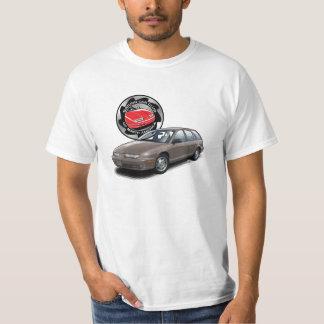 SCCNA Brown Saturn Gen 2 Wagon T-Shirt