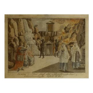 """Scène """"de la cannelure magique"""" par Mozart, 1795 Cartes Postales"""