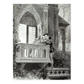 Scène de l'acte II de Romeo et de Juliet Cartes Postales