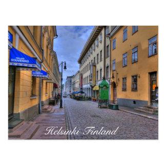 Scène de ville de Helsinki Finlande Cartes Postales