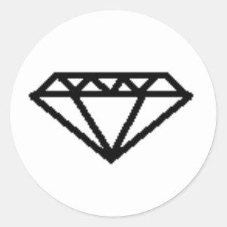 SCENE DIAMOND YO! CLASSIC ROUND STICKER