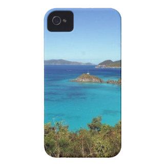 Scène d'île des Caraïbes Coque iPhone 4 Case-Mate
