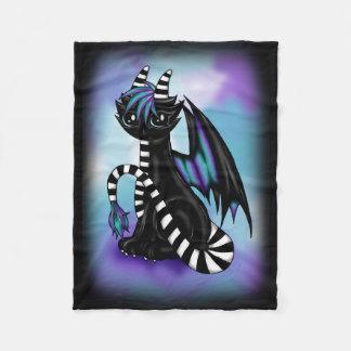 Scene Dragon Fleece Blanket