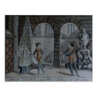 Scène 'du Flute magique Cartes Postales