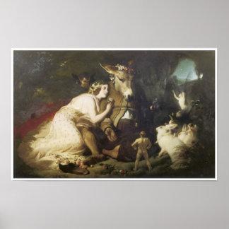 Scene from a Midsummer Night s Dream 1848-51 Print