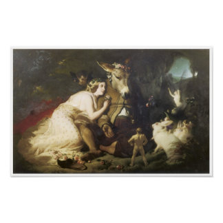 Scene from a Midsummer Night s Dream 1848-51 Print