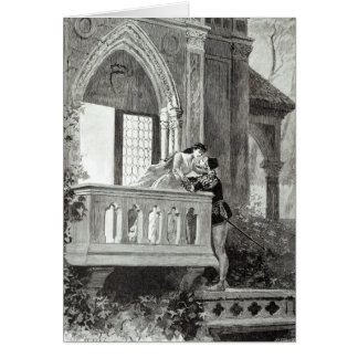 Scene from Act II of Romeo and Juliet Card