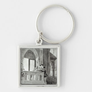 Scene from Act II of Romeo and Juliet Keychain