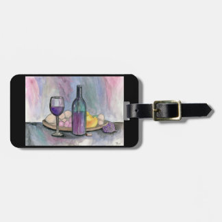 Scene From An Italian Restaurant Luggage Tag