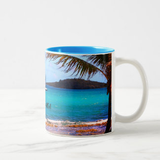 Scene from St. Croix Two-Tone Coffee Mug